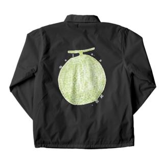メロン melon  甜瓜 Coach Jacket