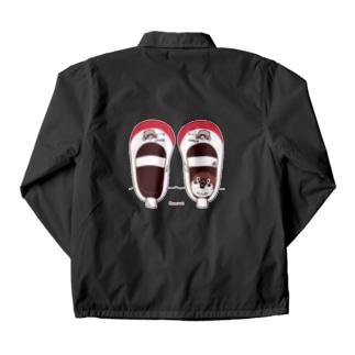 バックプリント*CT165 スズメがちゅん*うわばきA*イラストサイズ大きいver Coach Jacket