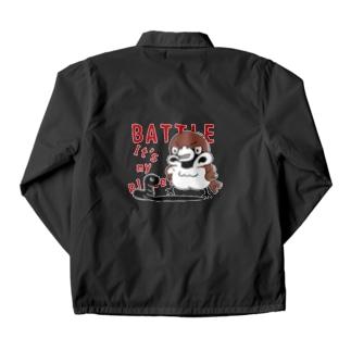 バックプリント*CT166 スズメがちゅん*BATTLEちゅん Coach Jacket