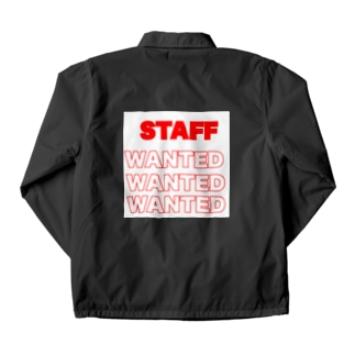 従業員募集中 Coach Jacket