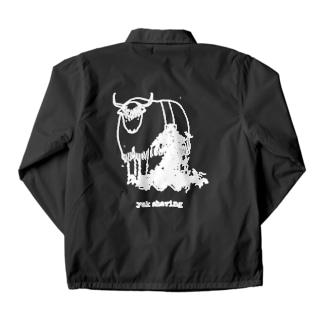 yak shaving for darker color コーチジャケット