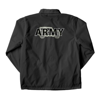 U.S.ARMYなジムニー Coach Jacket