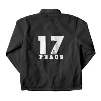 peace number Coach Jacket