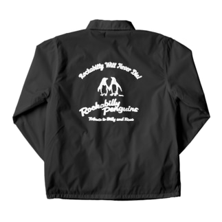 ロカビリーペンギン001 Coach Jacket