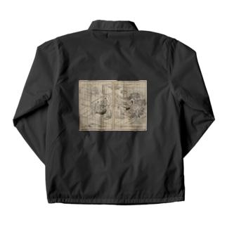 夢応の鯉魚L Coach Jacket