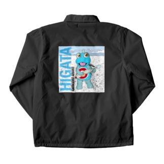HIGATAと超魚 Coach Jacket