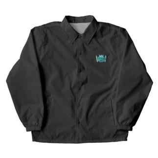 カエルとドラム ロゴ 2019 グリーン Coach Jacket