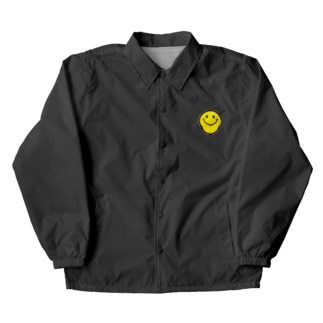 for one's smile Coach Jacket