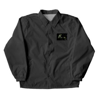 黒っぽいなんか Coach Jacket