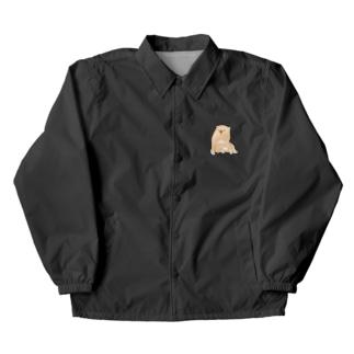 あの犬/クリーム Coach Jacket