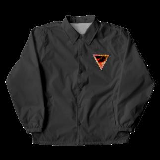 【三角形の穴】の▼3【逆三角形の穴】 Coach Jacket