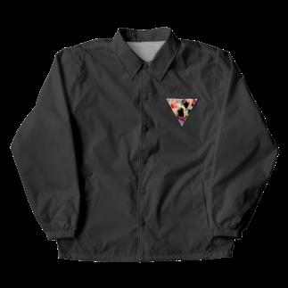 【三角形の穴】の▼4【逆三角形の穴】 Coach Jacket