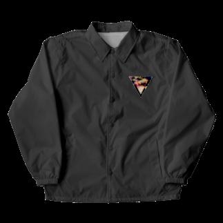 【三角形の穴】の▼5-2【逆三角形の穴】 Coach Jacket