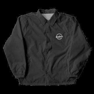 elementarium design&worksのwhite_logo Coach Jacket