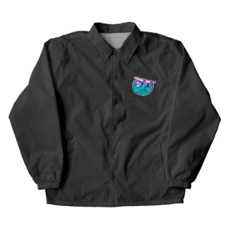VIVID SLOTH Coach Jacket
