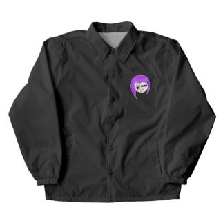 VELANYSの紫ヴェラ子 【VELANYS】 Coach Jacket