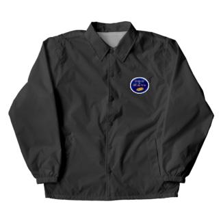 ソーセージのベルリン店名ロゴ Coach Jacket