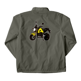 GROM YELLOW Coach Jacket