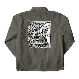 かねこじきちゃん Coach Jacket