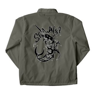 sea monster. Coach Jacket
