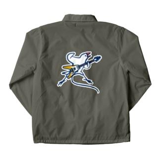 フライングV文鳥 Coach Jacket