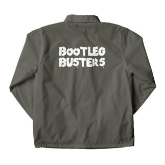 Bootleg BustersのBOOTLEG  BUSTERS ロゴ Coach Jacket