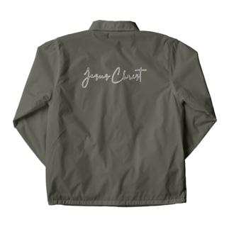 一羽のすずめのJesus Christ Coach Jacket