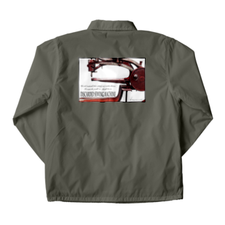 Kazumichi Otsubo's Souvenir departmentの棄てられたミシン ~ レッド Coach Jacket