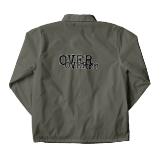 hachi08のOVERシリーズ2 Coach Jacketの裏面