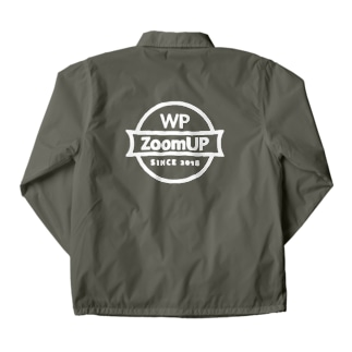 WP ZoomUP ビッグロゴ 背面 Coach Jacket
