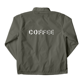 Coffee shadow Coach Jacket
