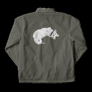 kinako-japanの白猫ソイルちゃん Coach Jacket