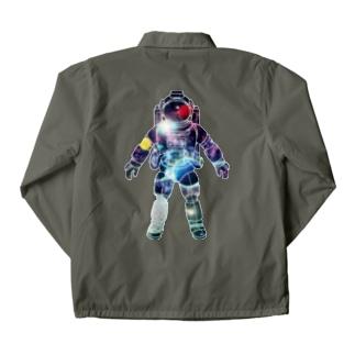 夢見る宇宙服-プラネット Coach Jacket