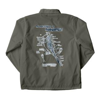 林山キネマのジャンボセキセイプロポーション/ダークネイビー Coach Jacket