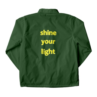 shine your light Coach Jacket