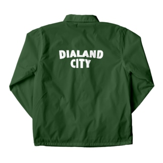 DIALAND CITY WHITE Coach Jacket