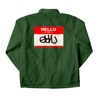 my name is di*k Coach Jacket