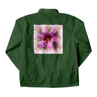 紫の桜餅の香り Coach Jacket