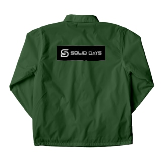 SOLID DAYS 2019 ボックスロゴ Coach Jacket
