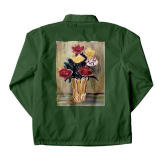 ami  flowers Coach Jacket