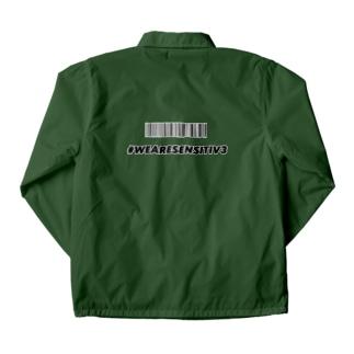 #WEARESENSITIV3 Coach Jacket