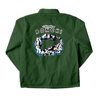 雪の甲府盆地 Coach Jacket