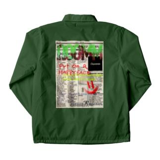 ooomm - コーチジャケット(社会風刺series vol.1) Coach Jacket