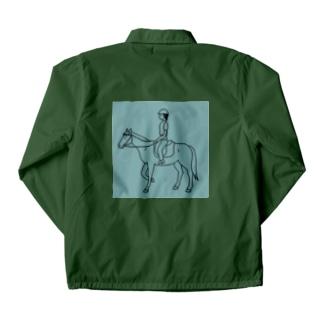 馬のいる日常 Coach Jacket