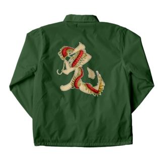 【 RabiLant 】 Rabbit × centipede Coach Jacket