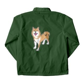 柴犬DOT Coach Jacket