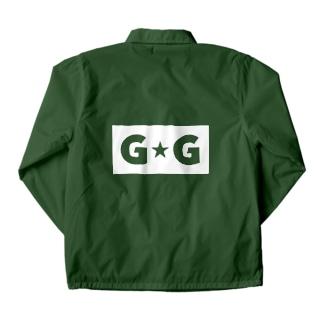 G☆G ブランドロゴ Coach Jacket