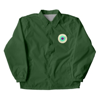 CORONET70のサークルa・クリーム・ペパーミント・パープル2 Coach Jacket