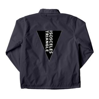 二等辺三角形 Coach Jacket