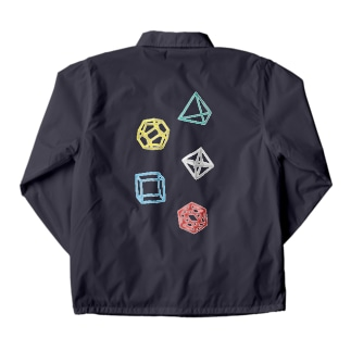Regular Polyhedron Coach Jacket